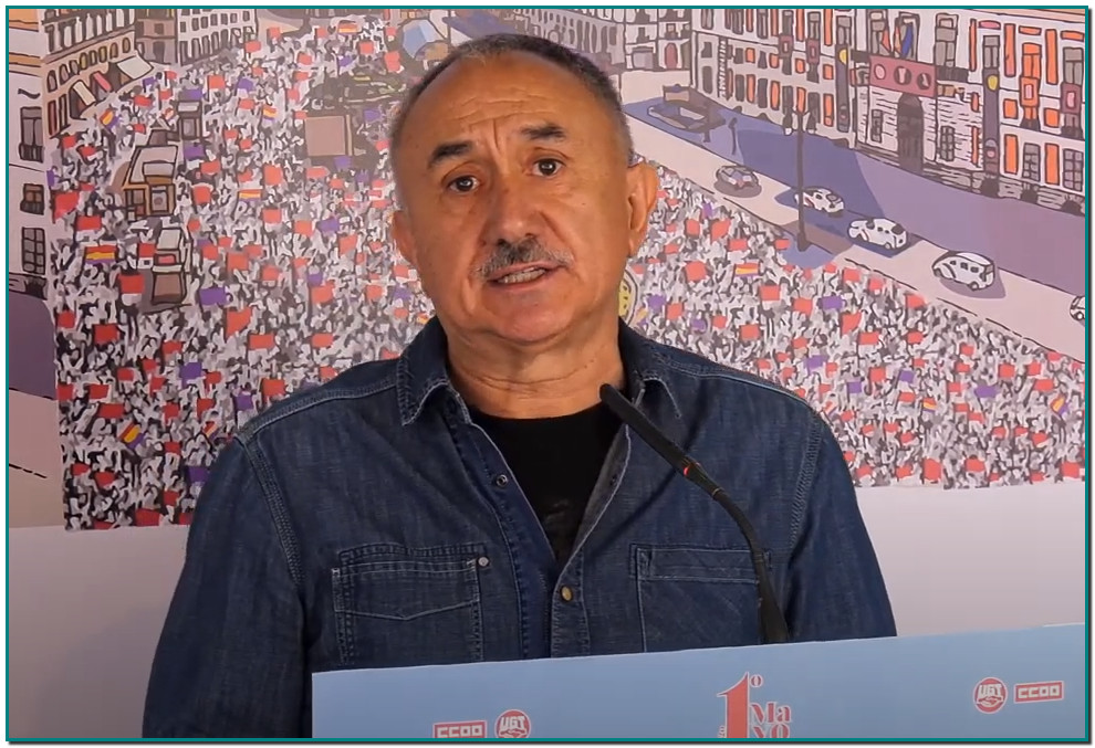 Intervenció: Pepe Álvarez, Secretario General de UGT 1º de mayo